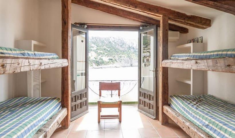 Dormitorio adicional literas