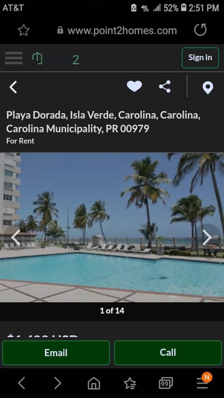 Nea3chfront heaven alll amenities 1.5acres beach