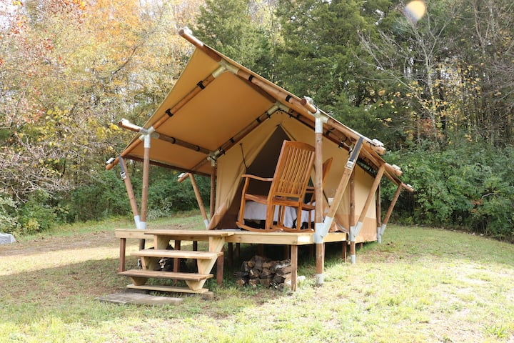 GlampKnox  East Tennessee Private Glamping