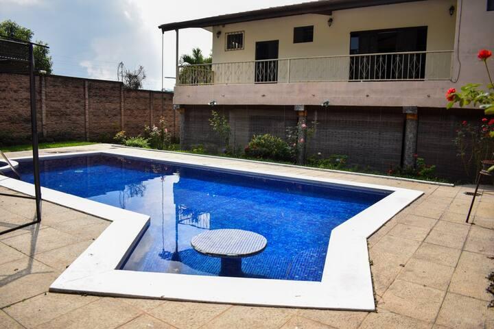 The Luxury Pool House