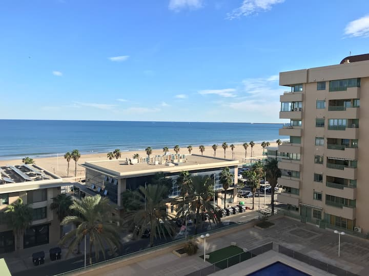 APARTAMENTO EXCLUSIVO FRENTE AL MAR