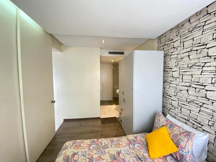 Well furnished studio at Ziraoui fancy flat