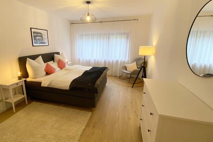 Modernes Design-Apartment in Ürzig mit Balkon,95qm