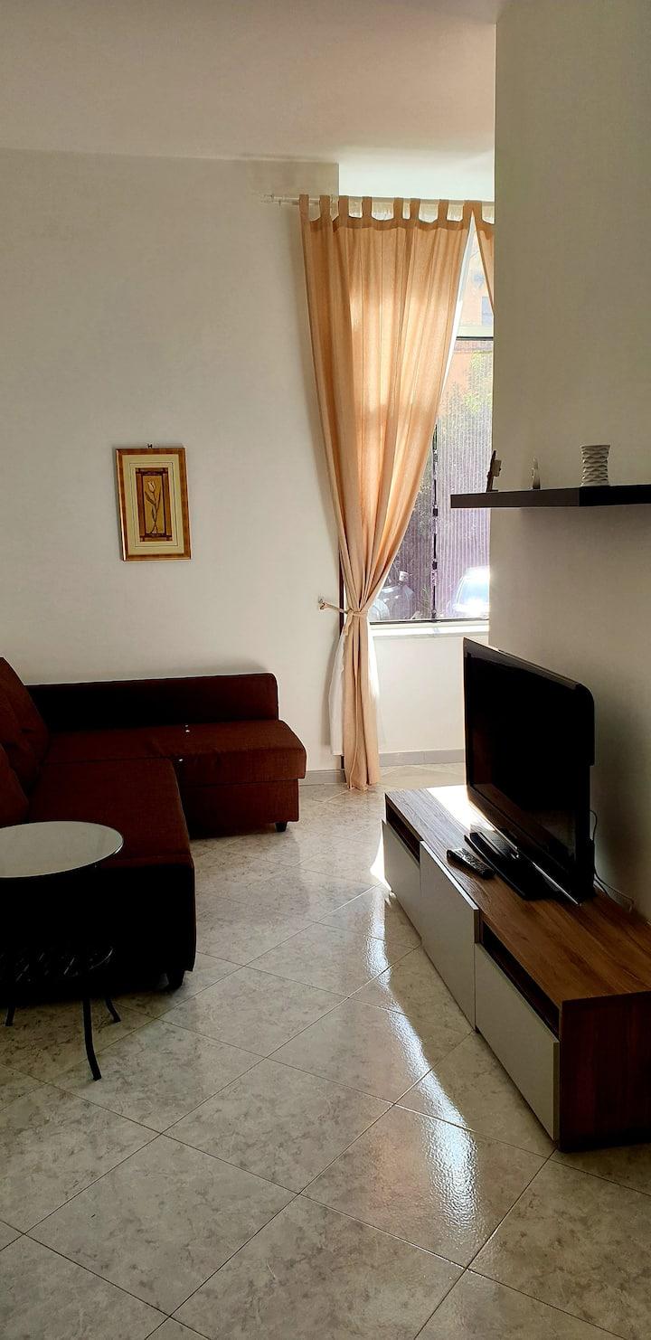Appartamento in Villa, 1 km dall'ospedale del mare
