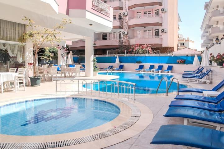 Economic Apartments | 500 mt to the sea | Oba