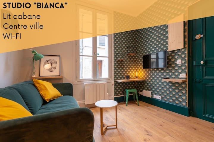 "Studio ""Bianca""  Lit cabane"