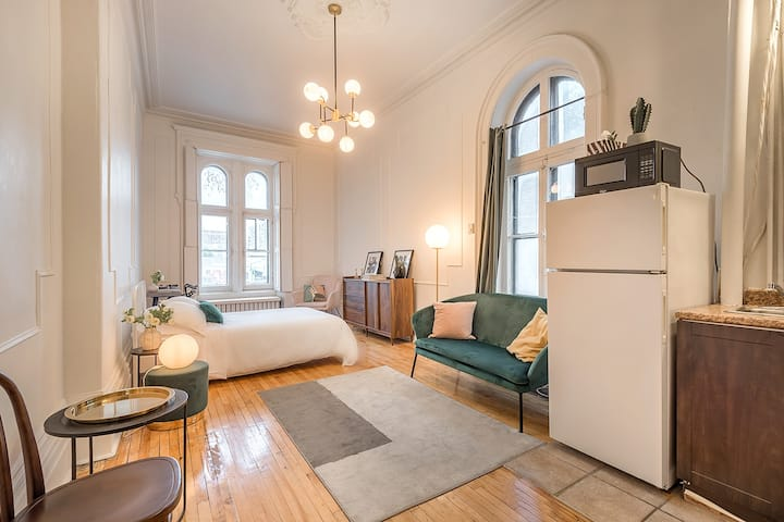 Downtown Montréal - Comfy Apartment - workspace