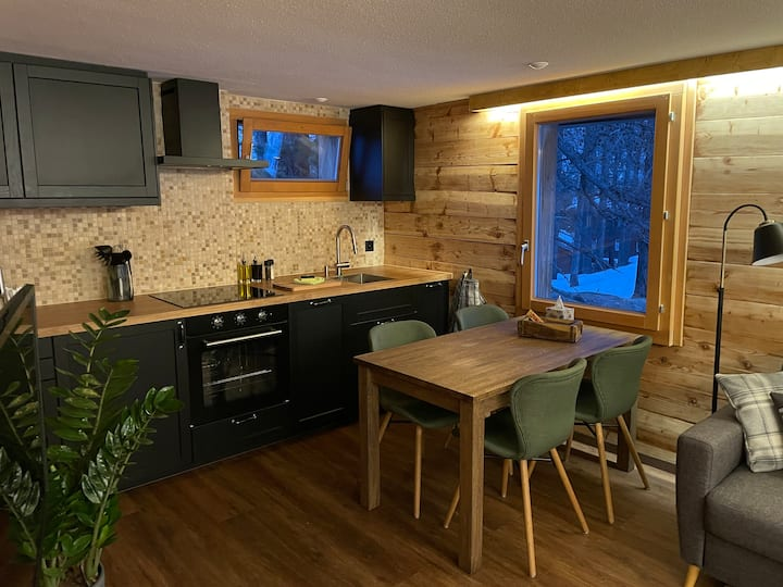 Newly renovated private cosy apartment in Saas Fee