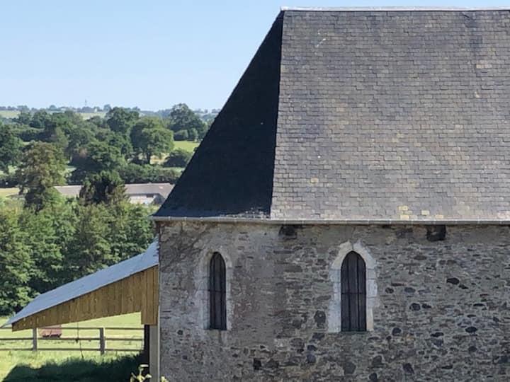 St Lô  Pierrefitte Ancien hôtel aux moines Etage