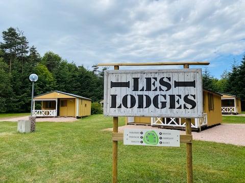 位於森林中心的度假木屋