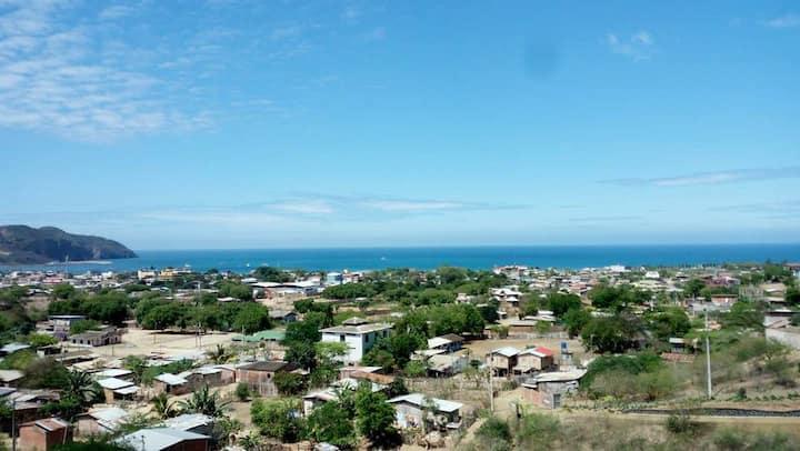 AluzacaMar, con vista al Mar, Puerto López 5 Pers.