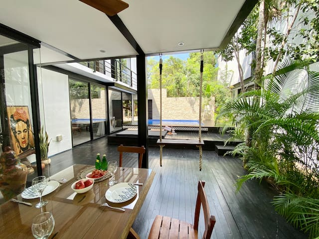 New beautiful 3 Bedroom villa with Pool in Tulum