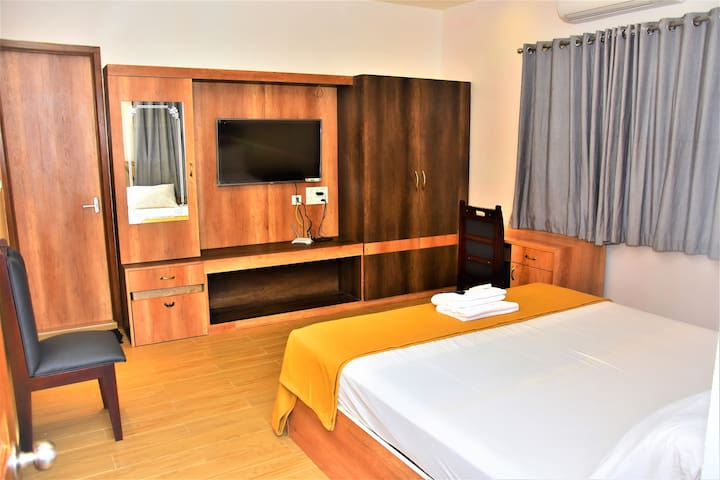 Beach Facing room in Umino Beach Resort