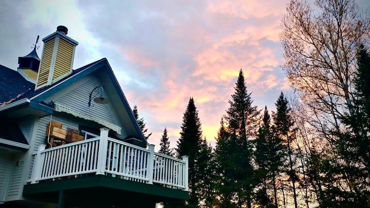 Loft de ski parfait des Cantons- Perfect Ski Loft!