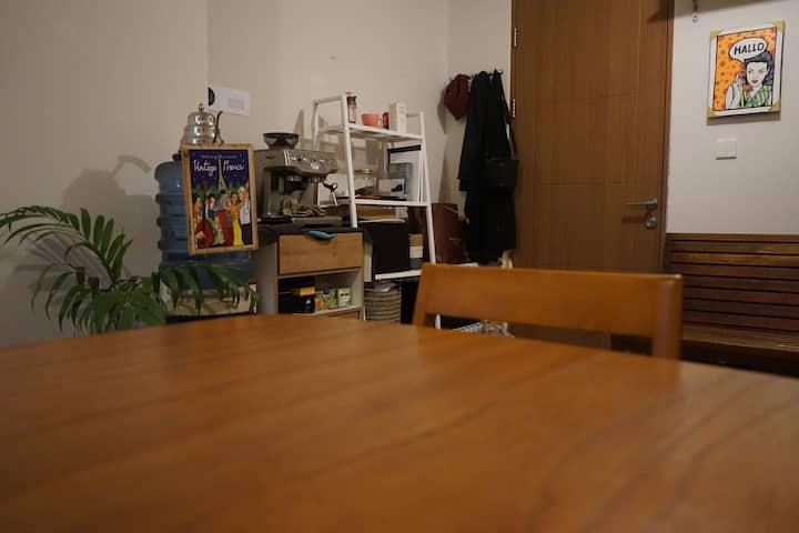 Cozy 1BR Minimalist Apartment