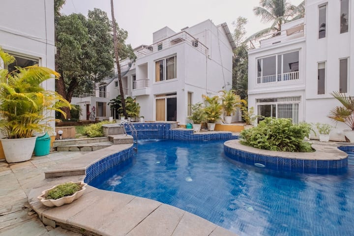 AspireJiaVilla5~3Bhk~WiFi~Pool~Beach700m~Caretaker