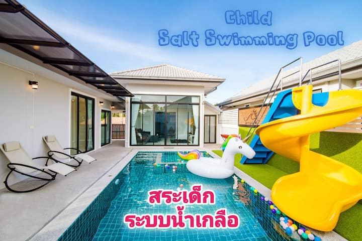 *Child Swimming Pool* New Home! Pool Jacuzzi Villa