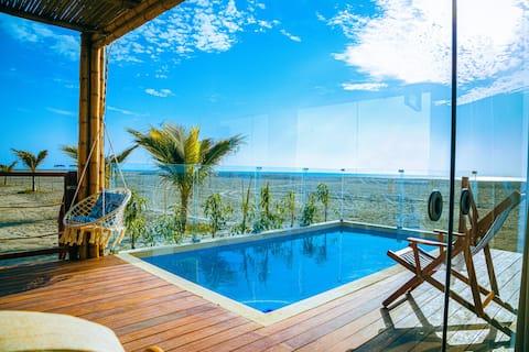 Casa de playa (primer piso) - Chincha
