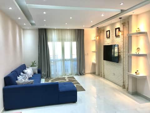 Apartament w hotelu w Sheikh Zayed Compound w pobliżu piramid