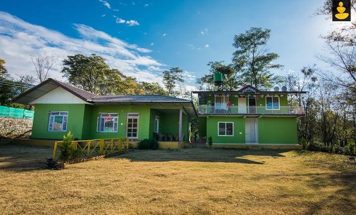 LivingStone 2 Room Cottage | Amidst Tea Garden Bir