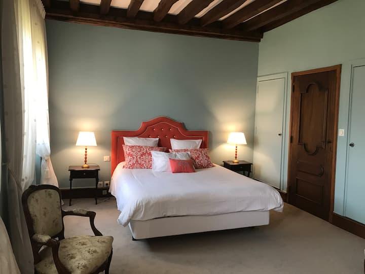 Manoir St-Germer-Chambre double de luxe 1er étage