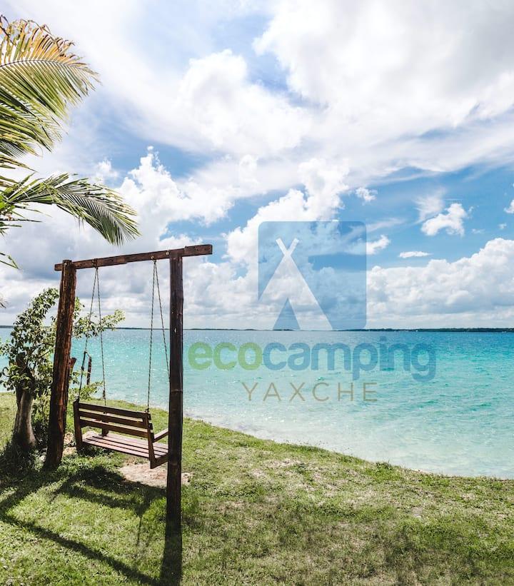 Suite Romántica KingSize en el Ecocamping Yaxche