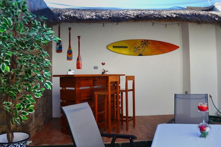 Progreso Yucatan Trendy Fully equipped  Home