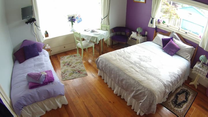 Catlins Retreat, Owaka, Family Suite,