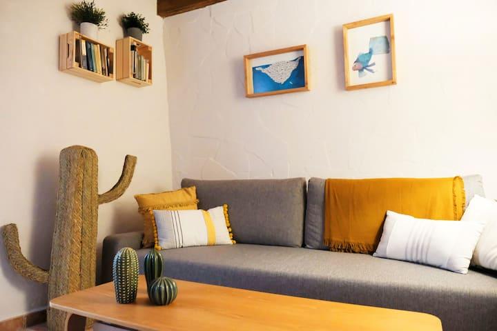 La Casita Amarilla- Coqueto alojamiento en Vejer