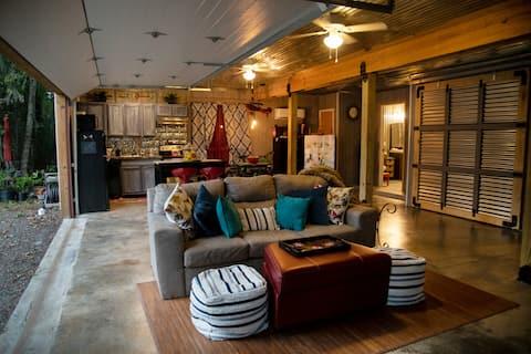 דירה פרטית, גישה לאגם בגבולות העיר יוסטון.