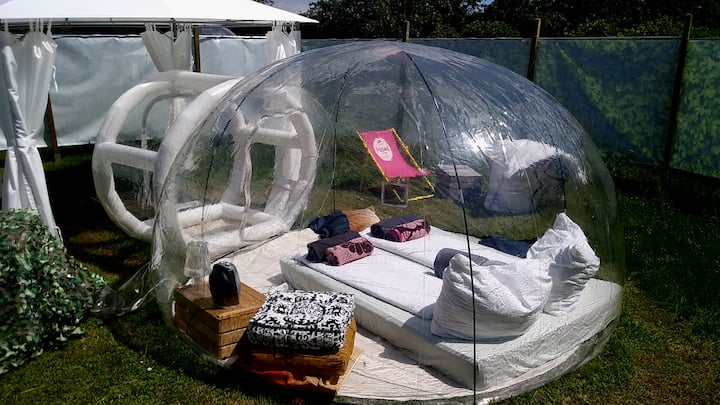Bubble Tent Hotel Jupitersuite / Junior Tent