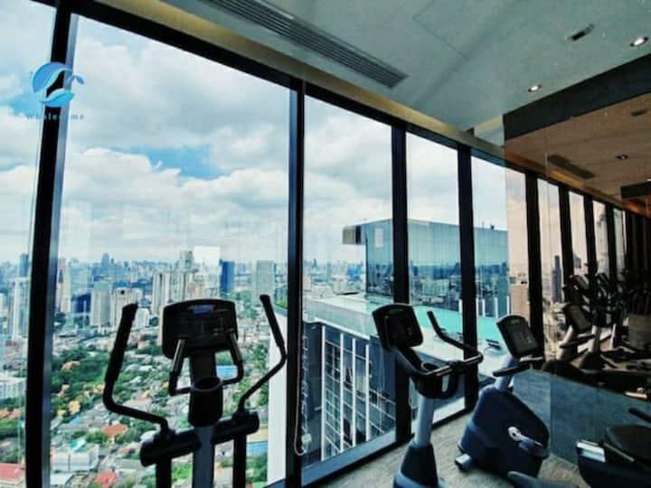 K2】Sathon CBD Luxury&Parking&Gym MahaNakhon view
