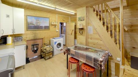 Дом с сауной на дровах !!!