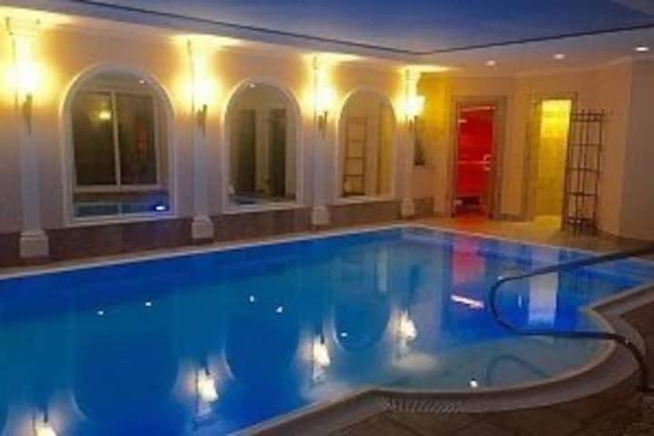460m2 Traumvilla mit Indoor-Pool, 17 km von Basel