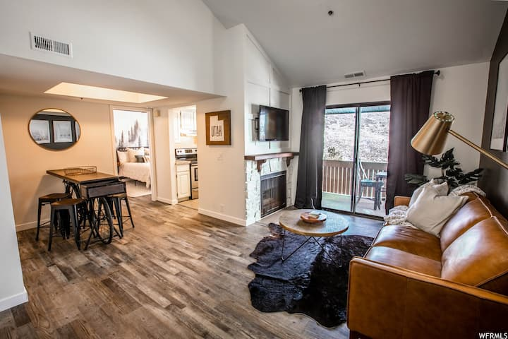 Skier's Home  1BD/1BA Near Park City Outlets!