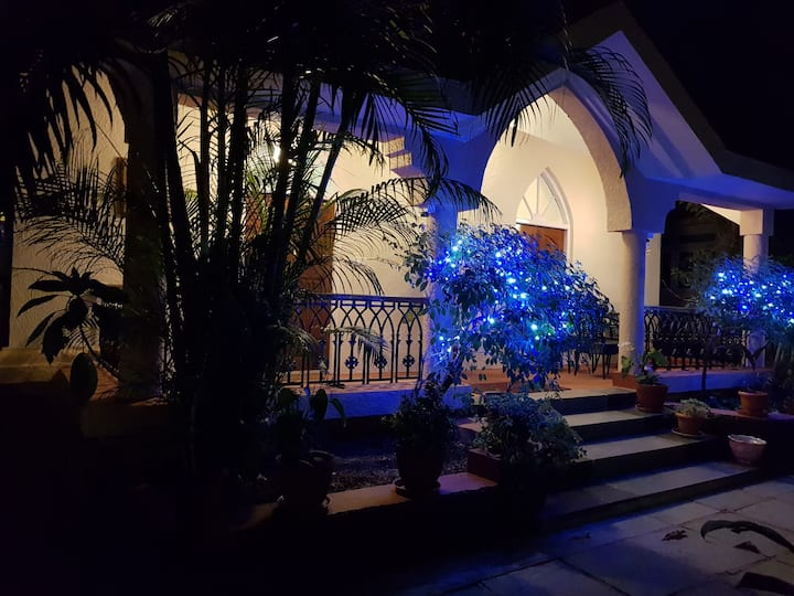 Beautifully furnished 2BHK villa in gated complex