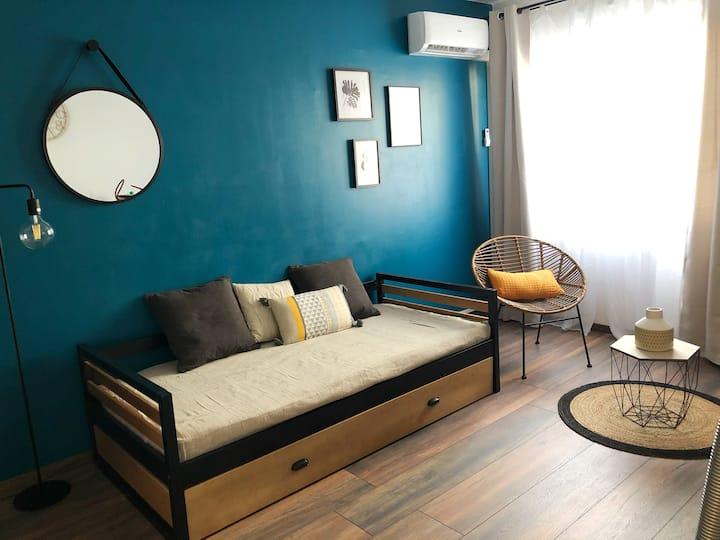 Studio cosy sur Sainte Clotilde