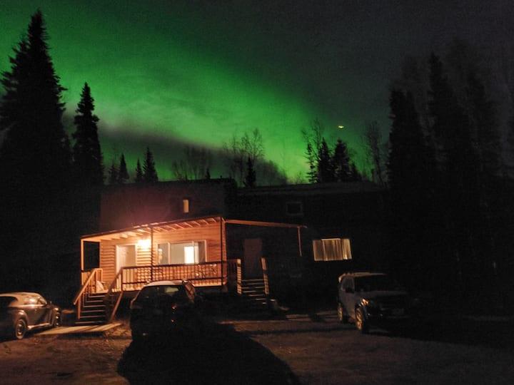 Cozy Alaskan Cabin
