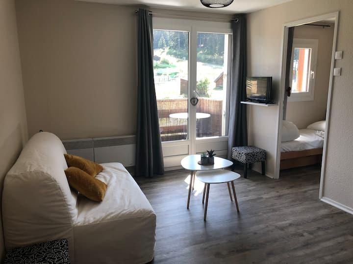 Bel appartement - 5 couchages - Vue  montagne