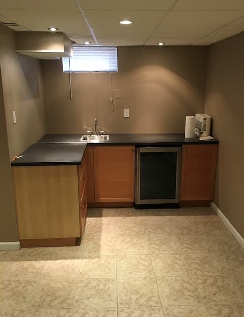 Basement Apartment with Private Entrance