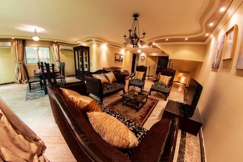 ElegantCairo Luxury Duplex near CityStars Mall ✯