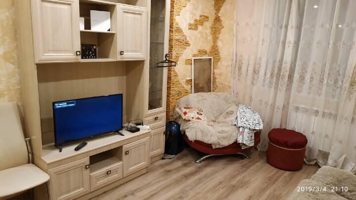 Квартира в новостройке, 1 комната, 40 м²