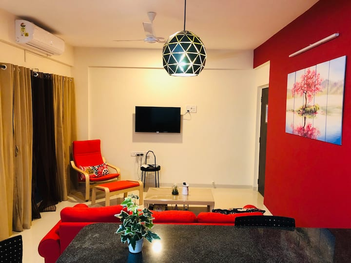 Fidel By CasaFlip:2BHK apartment in Anjuna/Vagator