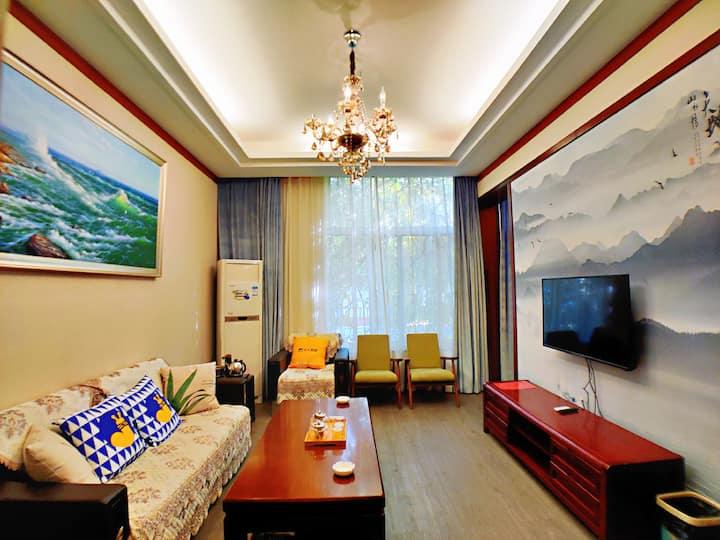 南山公园 精装庭院双床带厅 带早餐 近毓璜顶公园 近塔山旅游风景区