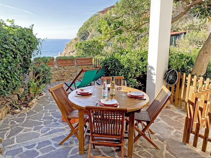 Casa Lia sul mare Scaglieri - Patio