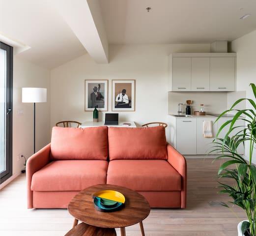 Líbere - Ático 1 dormitorio con terraza y vistas