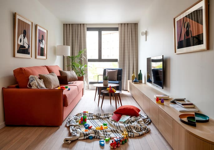 Líbere - Apartamento céntrico 2 dormitorios