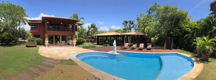 Casa de praia, tranquilidade e privacidade