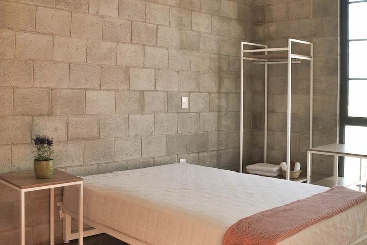 Habitación privada en GDL c/2 baños compartidos