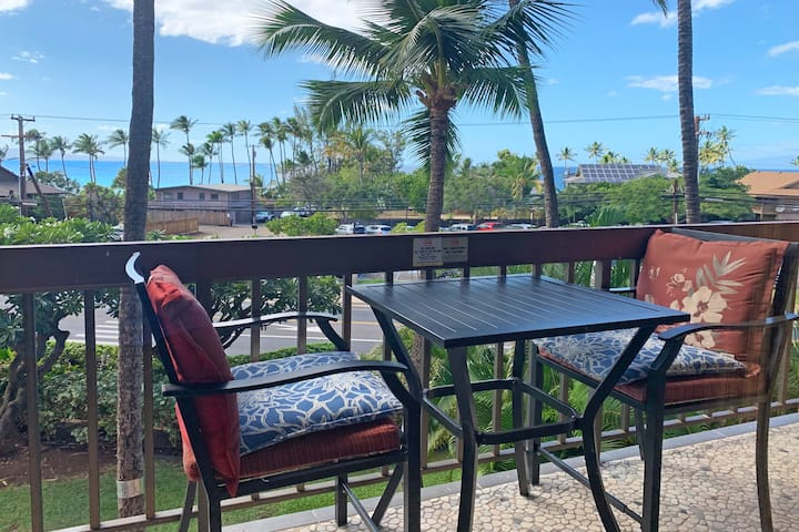 Lovely Ocean View condo in Maui Vista Resort Kihei
